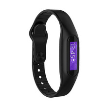 E06 zero.69 inch Contact Display screen Bluetooth Good Waterproof Sport Health Tracker Bracelet Watch For iPhone 5S 6 6Plus Samsung S6 Observe