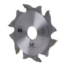 זווית מטחנות מסור עגול להב Tenoning נגרות מכונה שרשרת גלגל עץ גילוף דיסק