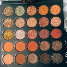 25 Colors EyeShadow Palette Pigment Shimmer Matte Glitter Eyeshadow Pallete Smoky Makeup EyeShadow Palette Cosmetic Eye Palette single eyeshadow pallete empty magnet palette shimmer matte glitter eyeshadow palette pigment smoky balm makeup palette cosmetic