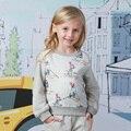 Hoodies Mangas compridas para o Bebê Meninas Roupas Da Moda Bonito do Coelho de Coelho encabeça Adolescentes Roupas para 456789 anos de idade 10 11 12 T Anos de Idade