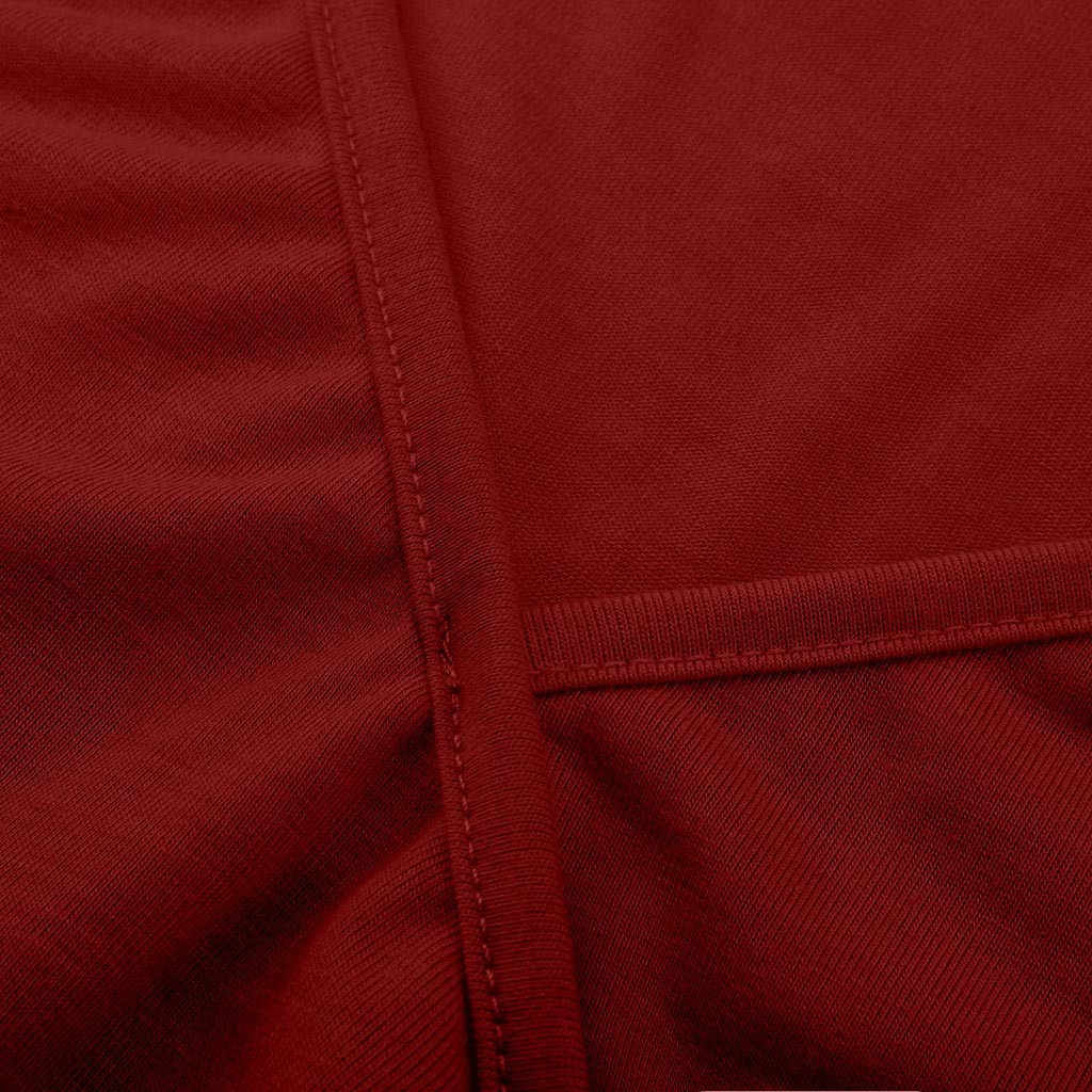 FEITONG เสื้อแฟชั่นผู้หญิง Plus ขนาด Cutout ไม่สมมาตรไหล่เย็น V คอขายเสื้อแฟชั่น Hot ขาย camisa feminina
