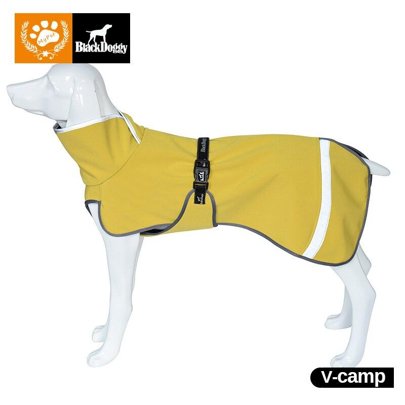 防水ペット犬子犬ダウンジャケットチワワ服暖かい冬の犬服コートすべての犬イエローカラーポリエステルs-3xl