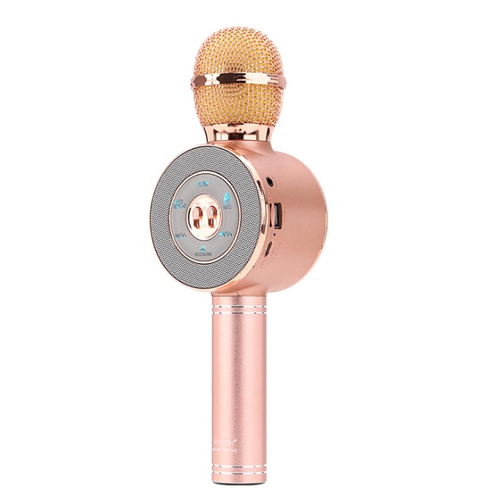Egizmo Karaoke Mikrofon Mit Usb Port Drahtlose Tragbare 3,5mm Stereo Für Ipad Telefon Android Pc Smart Telefon #291585 Unterhaltungselektronik