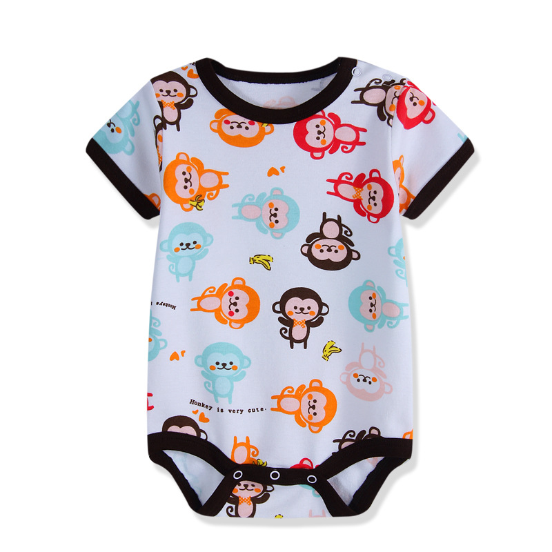 Baby Girls Boys Bodysuits For Infants Newborn Babies Clothes Bebe Summer Children Climb 100% Cotton Clothing Jumpsuit Triangle spring baby boys girls clothing winter baby hooded rompers cotton padded kids warm overalls climb clothes for newborn babies