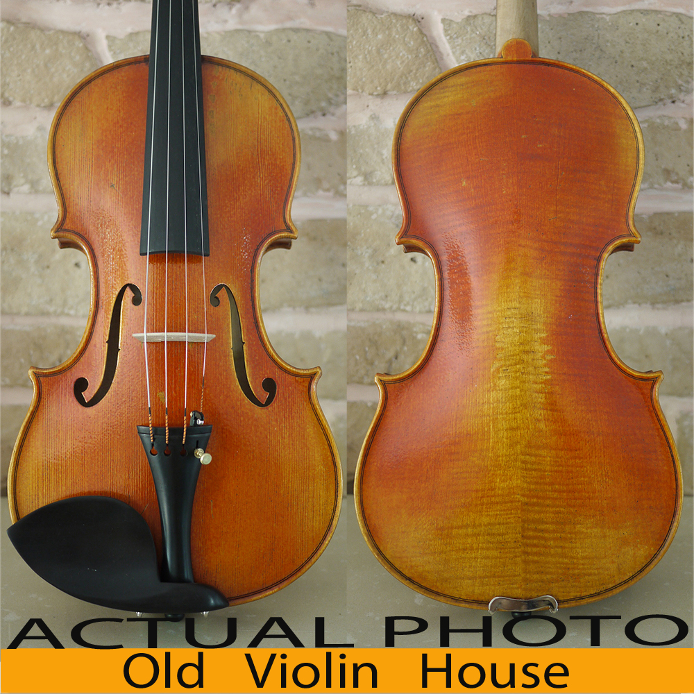 Handmade. Carpathian Spruce Guarneri Del Gesu 1742 Lord Wilton Violin Model . Rich Tone. Antique Violin Oil Varnish, No.2549 antique violin model stradivarius 1715 model 100