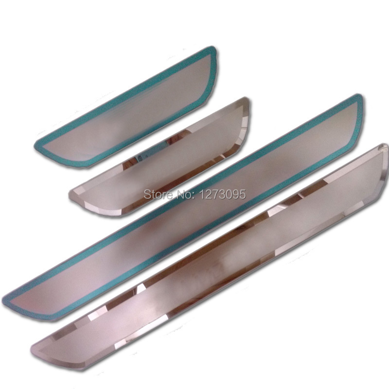 Car Accessories for Mazda 3 2014 2015 2016 2017 2018 Stainless Steel Scuff Plate Door Sill Welcome Guard Pedal Sticker Styling brand new car styling accessories stainless steel inside door sill scuff plate for mazda 6 atenza 2014