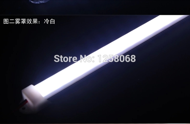 Led Strip Licht : Fanlive leds with plastic cover led strip diffuser hard