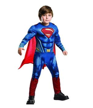 Purim Cosplay Costumes Kids Deluxe Muscle Christmas Superman Costume for children boys kids superhero movie man of steel cosplay недорого