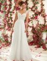 Beach Chiffon Lace Sweetheart Wedding Dress Backless Glamorous Bridal Gown Hot Sale Vestido De Novia China Free Shipping DW06