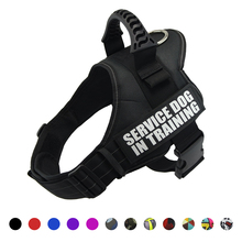 Dog harness Nylon Adjustable reflective vest for small large dogs Chihuahua husky dog harnesses accessories XS-XXL
