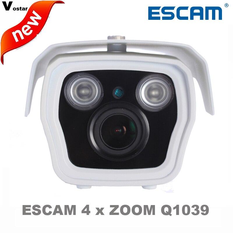 Escam Q1039 Full HD 1080P 2MP 4X Zoom Vari Focal 3 12mm Day Night ONVIF IR