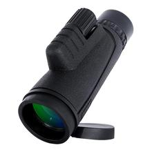 Portable Mini BAK4 Monocular Telescope 10x42 Zoom Outdoor Single-Tube