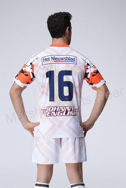 Color blanco Jersey de fútbol, equipo de fútbol uniforme ...