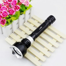YUPARD waterproof Underwater Diving diver XM-L2 T6 LED Flashlight Lamp yellow white light 18650 rechargeable battery Torch
