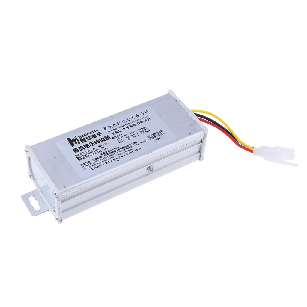 DC-DC 48V-120V To 12V 15A Buck Converter Voltage Regulator Step Down Power Supply Module Car/Vehicle LED