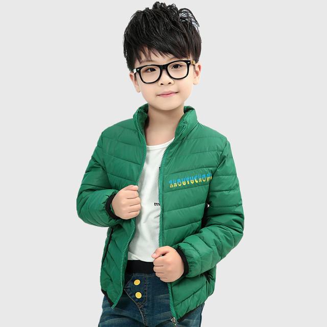 Criança algodão-jaqueta acolchoada para baixo outerwear bebê amassado jaqueta unisex feminino masculino roupas criança outono e inverno das crianças