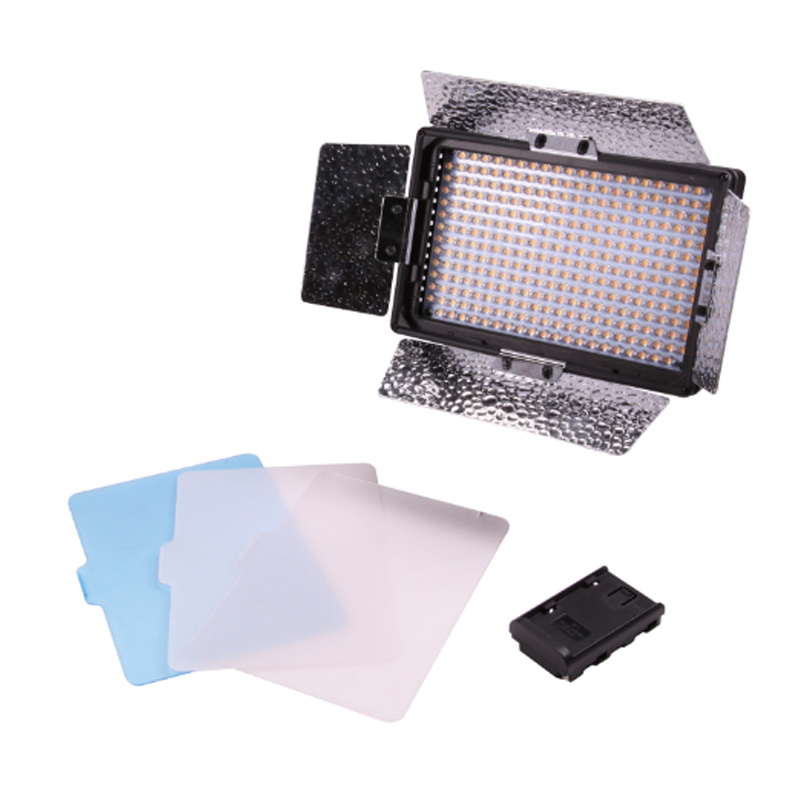 Nanguang CN 304C 304PCS LED Dimmable High Power Panel Digital Video Light for Canon Nikon Pentax Panasonic SONY Samsung Olympus|lighting acrylic panels|light switch panel|panel paper - title=