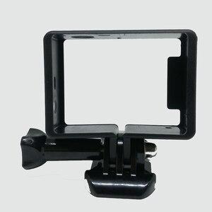 Image 5 - Standard di protezione Telaio per gli Accessori Go Pro Custodia Border + Tripod Mount Adapter + Vite per GoPro Hero 4 3 3 +