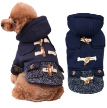 Dog Pet Clothes Winter Pet Cold Weather Coat for Small Dogs French Bulldog Clothes Warm Fleece Dog Coat Jacket XS S M L XL XXL цена