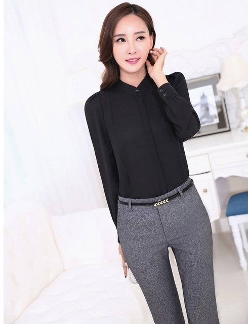 New Professional Business Women Suits Tops And Pants Formal Uniform