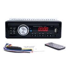 1DIN 12V Car Audio Stereo FM Bluetooth V2.0 USB SD Mp3 Player