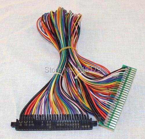 arcade game board 100cm 56 pin Full JAMMA Extender harness, JAMMA ...