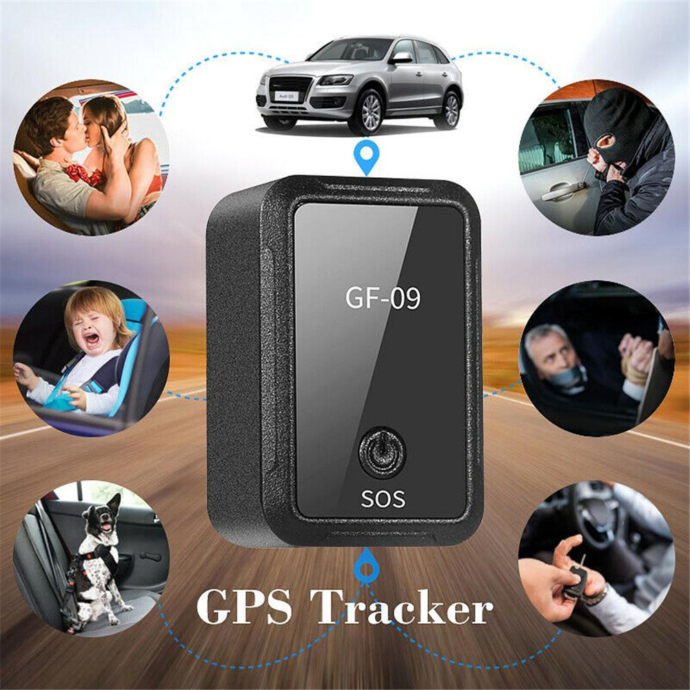 GF-09 Mini GPS Tracker for Car or Vehicle with Magnetic Voice Recorder 2