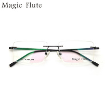 2017 New Arrival optical frames eyeglasses rimless frame for Men or women fashion prescription eyewear M6015 original new arrival 2017 puma evo core men s pants sportswear