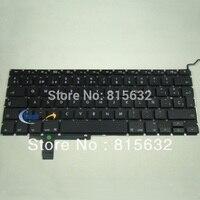 Brand New FOR Apple MacBook Pro 17 Unibody A1297 SPANISH Keyboard Black