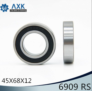 6909-2RS Bearing ABEC-1 ( 5 PCS ) 45x68x12 mm Thin Section 6909 2RS Ball Bearings 6909RS 61909 RS6909-2RS Bearing ABEC-1 ( 5 PCS ) 45x68x12 mm Thin Section 6909 2RS Ball Bearings 6909RS 61909 RS