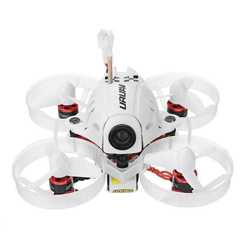 URUAV UR65 65 мм FPV Racing Drone БНФ Crazybee F3 Полет контроллер OSD 5A blheli_s ESC 5,8 Г 25 МВт VTX RC модели VS Нибиру E10S