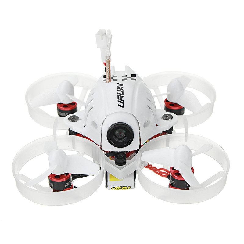 URUAV UR65 65mm FPV Racing Drone BNF Crazybee F3 Vol Contrôleur OSD 5A Blheli_S ESC 5.8g 25 mw VTX RC Modèles VS Eachine E10S