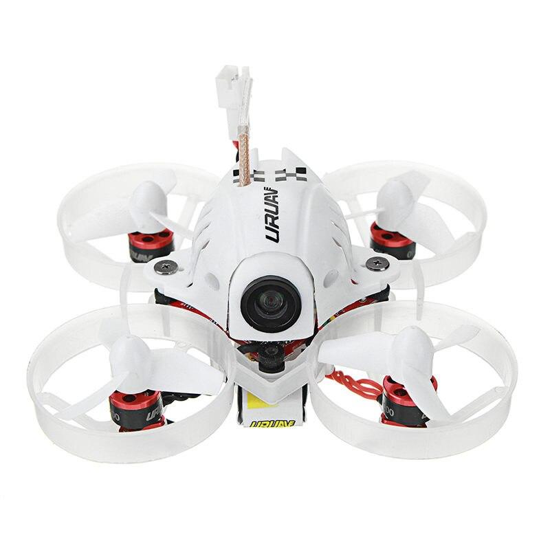 URUAV UR65 65mm FPV Racing Drone BNF Crazybee F3 controlador de vuelo OSD 5A Blheli_S ESC 5,8g 25 MW VTX RC modelos VS Eachine E10S