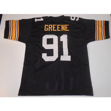 3acb8ebbb64 Mens Retro Kevin Greene Stitched Name Number Throwback Football Jerseys  UNSIGNED  NO LOGOS OR EMBLEMS
