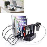 Uniwersalny Multi-6 8.8A Portu USB Charging Station Dock Adapter Ładowarka Podróżna Z Mocowaniem Do iPhone iPad Samsung Huawei etc.