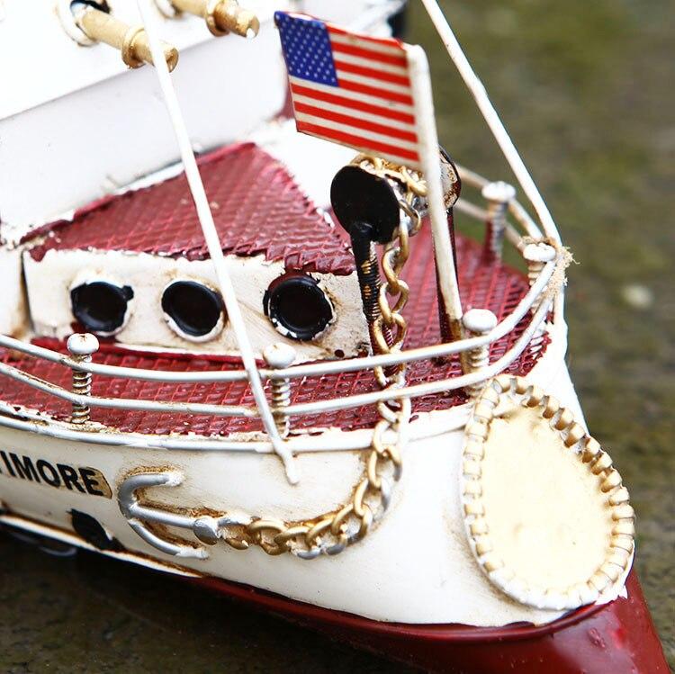 artesanato da marinha americana metal modelo de