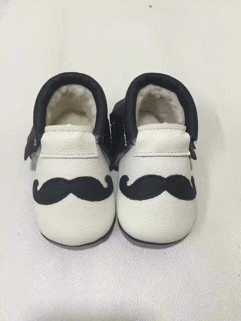 2017 новый милый детская обувь Животных печать сначала ходунки натуральной кожи младенца мокасины дети бахрома малыша moccas мягкая детская обувь