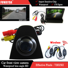 """Fuwayda беспроводной SONY CCD HD Автомобильная камера заднего вида Вид спереди 4.3 """"монитор для Honda Odyssey Новый Accord Civic CRV spirior Crosstour"""