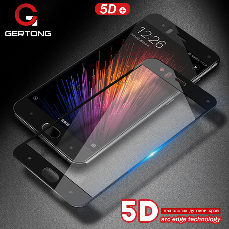 5D Full Cover Screen Protector Tempered Glass For Xiaomi Redmi 5 Plus Note 5A 4X Y1 Lite Mi5x Mi A1 6 Mi6 3D 4D Update Film