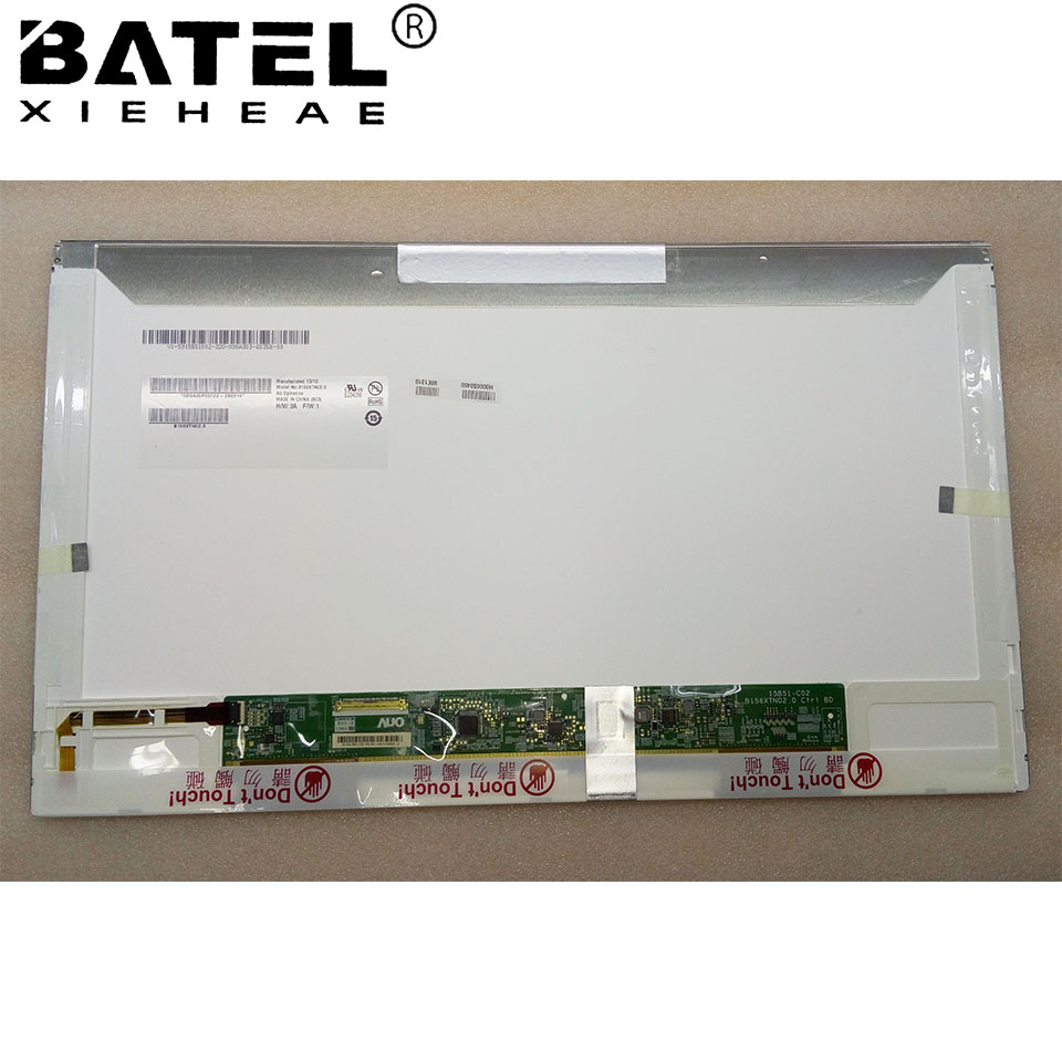 B156XTN02.1 B156XTN021 LED Display LCD Screen Matrix for Laptop 15.6 HD 1366X768 40Pin Glossy Replacement new lcd for asus k53s screen display glossy matrix for laptop 15 6 hd 1366 768 led panelreplacement