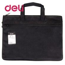 File-Bag Document-Holder Papers Business-Handbag Laptop Zipper Double-Layers Waterproof