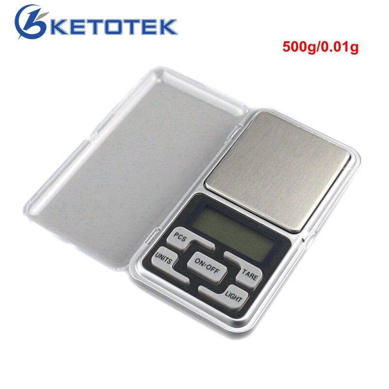 500g Mini Laboratorio Equilibrio Dei Monili Bilance Bilancia Elettronica Tascabile 0.01g Scale