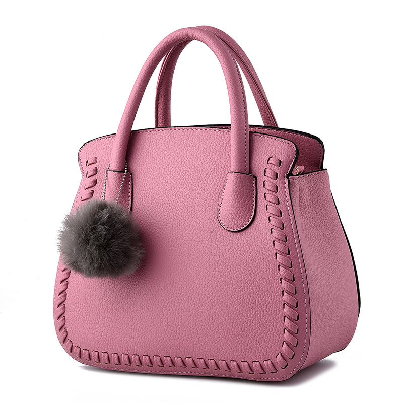 77ca82276bc3 Fashion Elegant Pink PU Office Lady Handbag Embossing Women s Shoulder Bag  Clutch