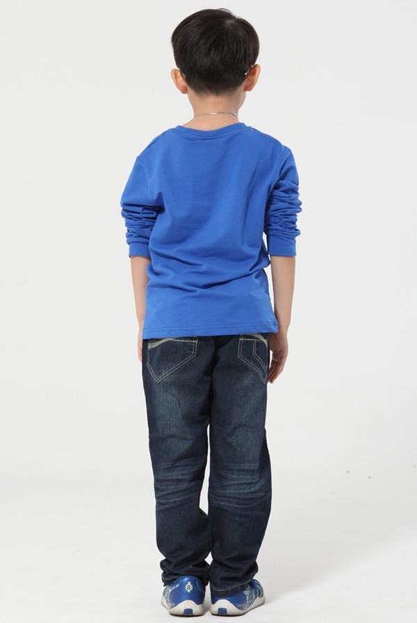 6e0077e9c81 XIAOYOUYU Size 120 160 cm Boys Casual Denim Pants Good Brand Elastic ...