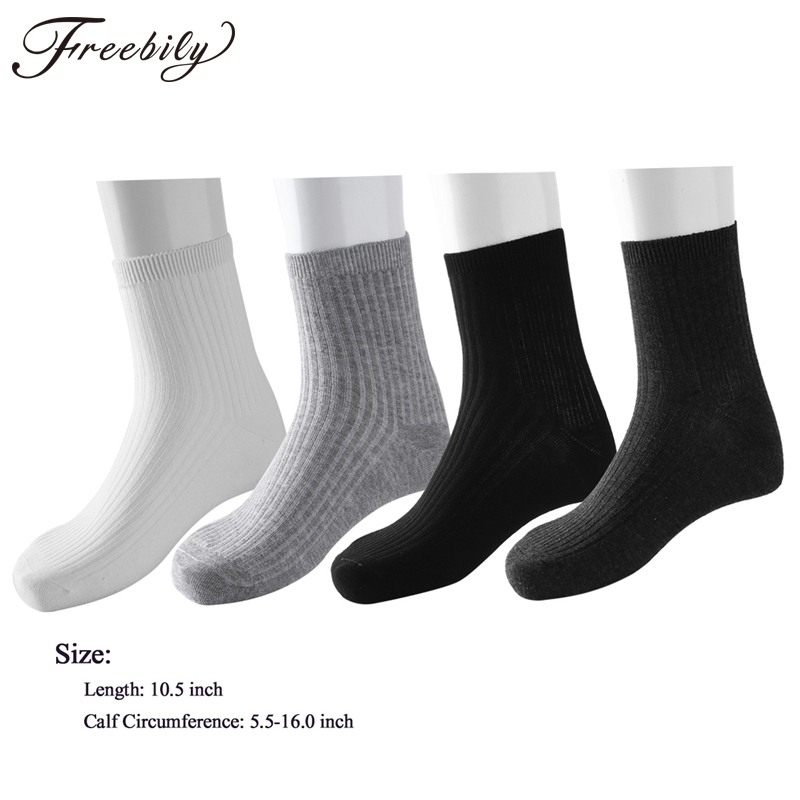 4 Pairs/lot New Mens Socks Winter Casual Cotton Camel Embroidery Fashion Breathable Socks Striped Breathable Male Crew Socks