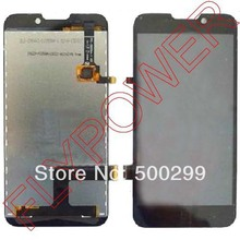 100% Warranty LCD Screen Display +digitizer touch Screen Glass FOR ZTE V967S Assemblely by free shipping