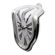 Nordic Surrealist Melting clock Art Design