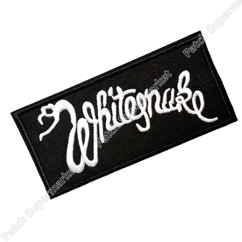 WHITESNAKE Music Band Iron On Sew On Patch Tshirt TRANSFER MOTIF APPLIQUE Rock Punk Badge Wholesale