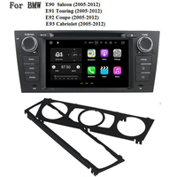 4 Core Android 7.1.2 Car DVD Player For BMW E90 Saloon E91 Touring E92 Coupe E93 Cabriolet Car GPS Satnav Car Stereo Unit GPS