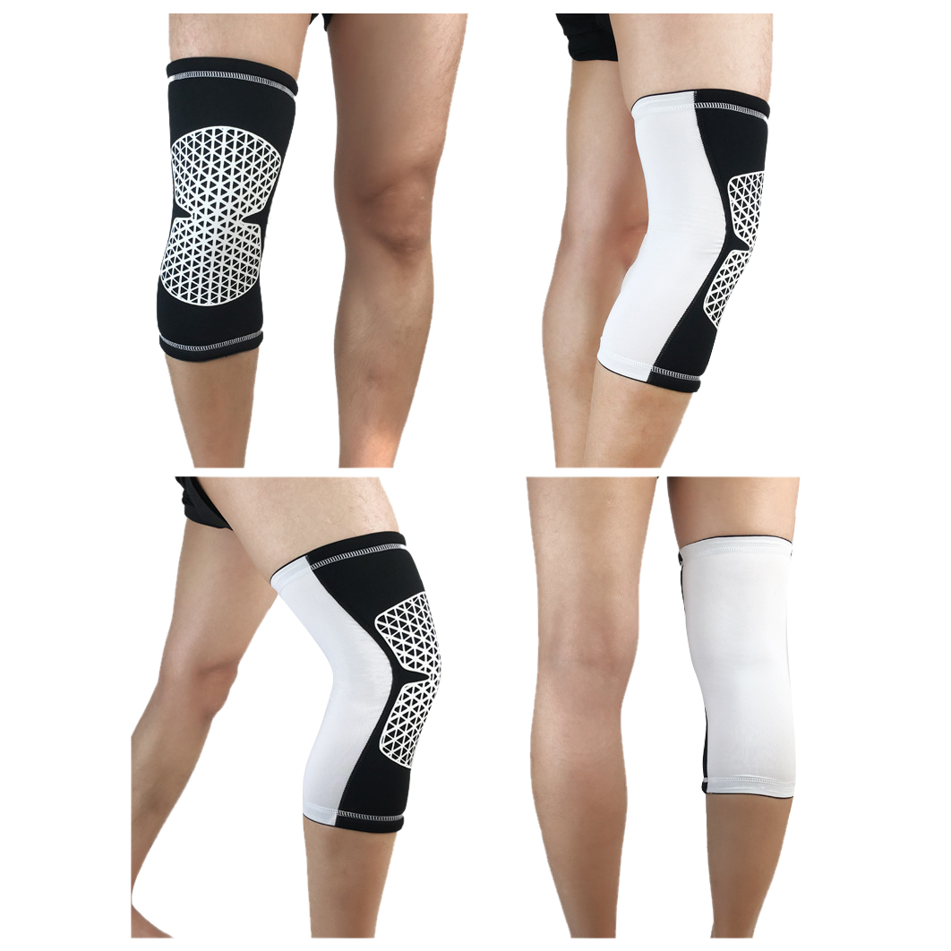 1pcs Sports Knee Pads Cycling Breathable Leg Knee Support Brace Wrap Protector Knee Pads Basketball Kneepads